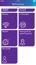 Apple iPhone 6 iOS 10 - Applications - MyProximus - Étape 22