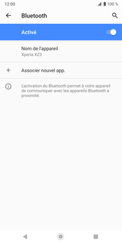Sony Xperia XZ3 - Bluetooth - connexion Bluetooth - Étape 10
