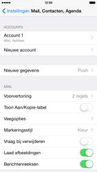 Apple iPhone 6 iOS 8 - E-mail - Account instellen (IMAP met SMTP-verificatie) - Stap 17