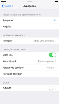 Apple iPhone 7 Plus - Email - Configurar a conta de Email -  24