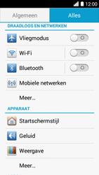 Huawei Ascend Y530 - WiFi - Verbinden met een netwerk - Stap 3