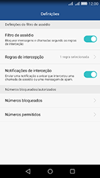 Huawei Y6 - Chamadas - Como bloquear chamadas de um número -  6