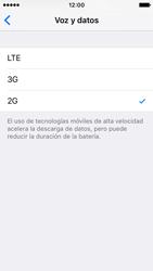 Apple iPhone SE - Red - Seleccionar el tipo de red - Paso 7