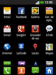 LG E400 - Email - Configurar a conta de Email -  4