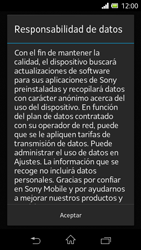 Sony Xperia L - Primeros pasos - Activar el equipo - Paso 4