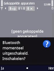Nokia N86 - Bluetooth - Headset, carkit verbinding - Stap 7