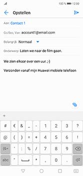 Huawei P20 Lite - E-mail - e-mail versturen - Stap 8