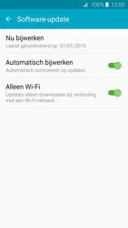 Samsung G925F Galaxy S6 Edge - Toestel - Software update - Stap 7
