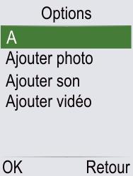 Doro Phone Easy 621 - Contact, Appels, SMS/MMS - Envoyer un MMS - Étape 16