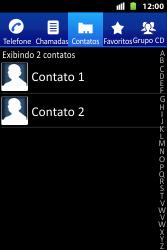 Huawei U8667 - Chamadas - Como bloquear chamadas de um número específico - Etapa 6