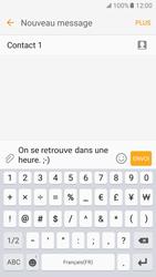 Samsung Galaxy S7 - Contact, Appels, SMS/MMS - Envoyer un SMS - Étape 12