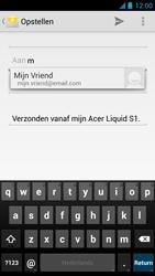 Acer Liquid S1 - E-mail - Hoe te versturen - Stap 6