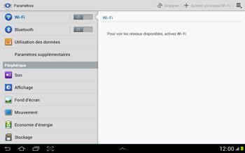 Samsung N8000 Galaxy Note 10-1 - Réseau - utilisation à l'étranger - Étape 7