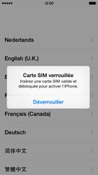 Apple iPhone 5c (iOS 8) - Premiers pas - Créer un compte - Étape 3
