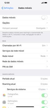 Apple iPhone XR - Internet no telemóvel - Como ativar os dados móveis -  4