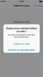 Apple iPhone SE - Sécuriser votre mobile - Activer le code de verrouillage - Étape 6