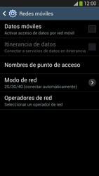 Samsung Galaxy S4 - Internet - Activar o desactivar la conexión de datos - Paso 8