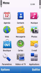 Nokia C6-00 - MMS - envoi d'images - Étape 2