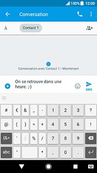 Sony Xperia XA2 Ultra - Contact, Appels, SMS/MMS - Envoyer un SMS - Étape 8