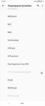 Sony xperia-1-dual-sim-j9110 - Internet - Handmatig instellen - Stap 14