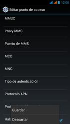 Wiko Stairway - Mensajería - Configurar el equipo para mensajes multimedia - Paso 16