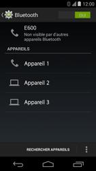 Acer Liquid E600 - Bluetooth - Jumeler avec un appareil - Étape 6