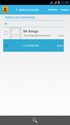 Wiko Stairway - Mensajería - Escribir y enviar un mensaje multimedia - Paso 8