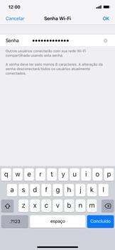Apple iPhone XR - Wi-Fi - Como usar seu aparelho como um roteador de rede wi-fi - Etapa 5