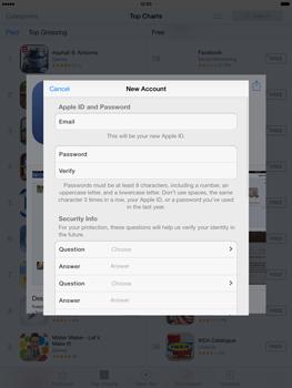 Apple iPad mini iOS 7 - Applications - Downloading applications - Step 12