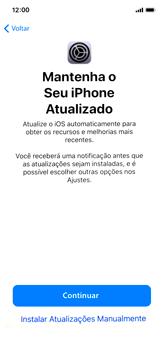 Apple iPhone X - iOS 12 - Primeiros passos - Como ativar seu aparelho - Etapa 27