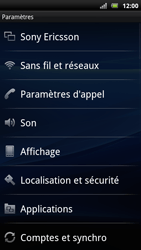 Sony Ericsson Xperia Arc S - Wifi - configuration manuelle - Étape 3