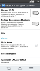 LG G2 mini LTE - Réseau - Utilisation à l