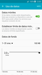 Samsung Galaxy A3 (2016) - Internet - Ver uso de datos - Paso 5
