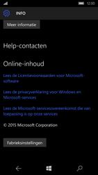 Microsoft Lumia 950 - Device maintenance - Terugkeren naar fabrieksinstellingen - Stap 7