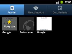 Samsung B5510 Galaxy TXT - Internet - hoe te internetten - Stap 9