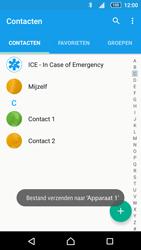 Sony Xperia Z5 Compact (E5823) - Contacten en data - Contacten overzetten via Bluetooth - Stap 11