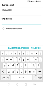 LG Q7 - E-mail - Handmatig Instellen - Stap 8