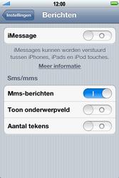 Apple iPhone 4S - MMS - probleem met ontvangen - Stap 5