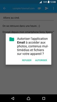 Sony Xperia Z5 Premium - Android Nougat - E-mail - envoyer un e-mail - Étape 10