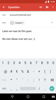 Huawei Google Nexus 6P - E-mail - Bericht met attachment versturen - Stap 9