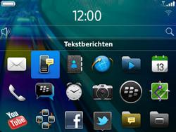 BlackBerry 9320 Curve - SMS - Handmatig instellen - Stap 3