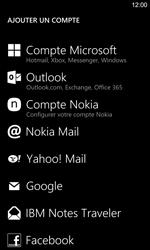Nokia Lumia 925 - E-mails - Ajouter ou modifier un compte e-mail - Étape 6