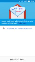 Lenovo Vibe C2 - Email - Como configurar seu celular para receber e enviar e-mails - Etapa 5