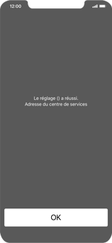 Apple iPhone XR - SMS - configuration manuelle - Étape 6