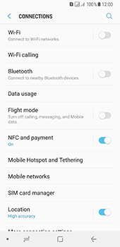 Samsung Galaxy A8 (2018) - Wi-Fi - Connect to Wi-Fi network - Step 5
