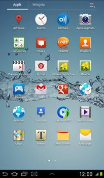 Samsung P3100 Galaxy Tab 2 7-0 - E-mail - Configurer l