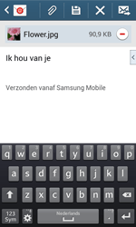 Samsung Galaxy Trend Plus (S7580) - E-mail - Bericht met attachment versturen - Stap 18