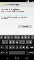 Motorola Moto G - E-mail - Account instellen (IMAP met SMTP-verificatie) - Stap 17