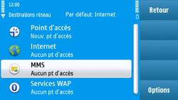 Nokia N97 - MMS - configuration manuelle - Étape 7