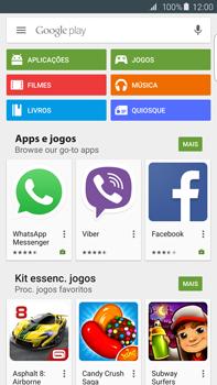 Samsung Galaxy S6 Edge + - Aplicações - Como pesquisar e instalar aplicações -  4